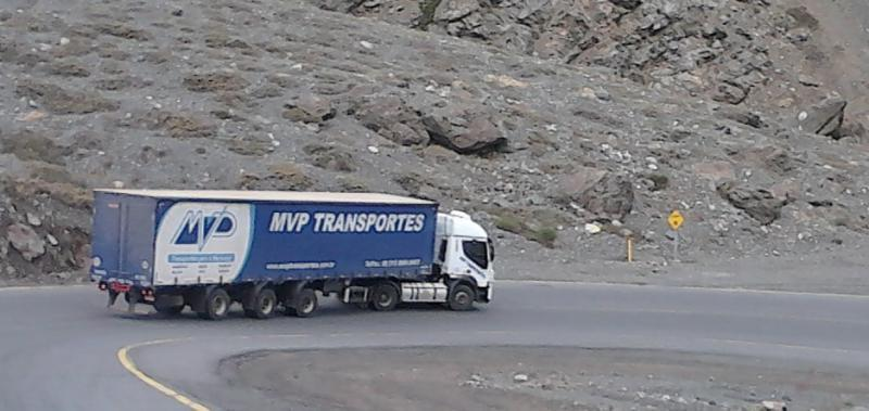 Transporte internacional chile